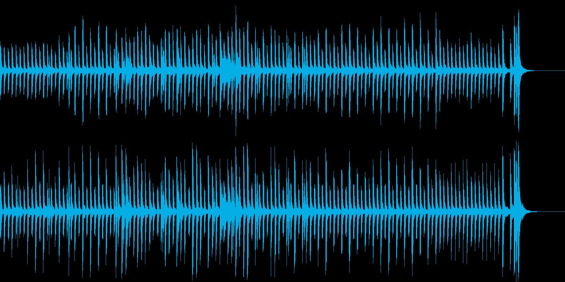 不思議、かわいくてヘンテコなピアノ曲の再生済みの波形
