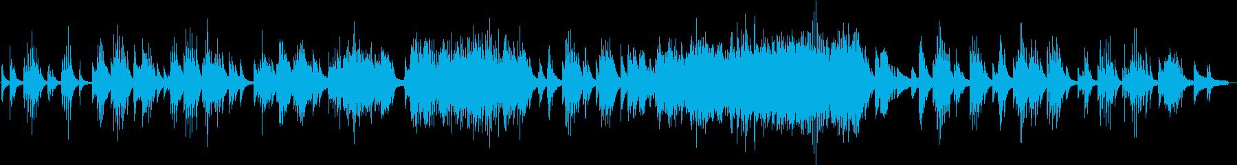 切なく穏やか〜盛り上がる展開のピアノソロの再生済みの波形