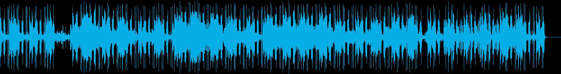 春の海の編曲の再生済みの波形