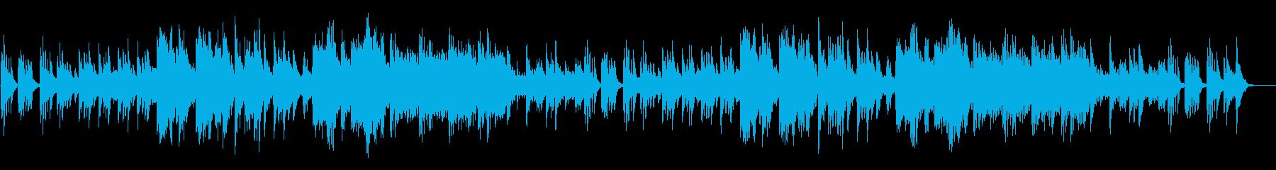 和風、神秘的な琴が感動を誘うBGMの再生済みの波形