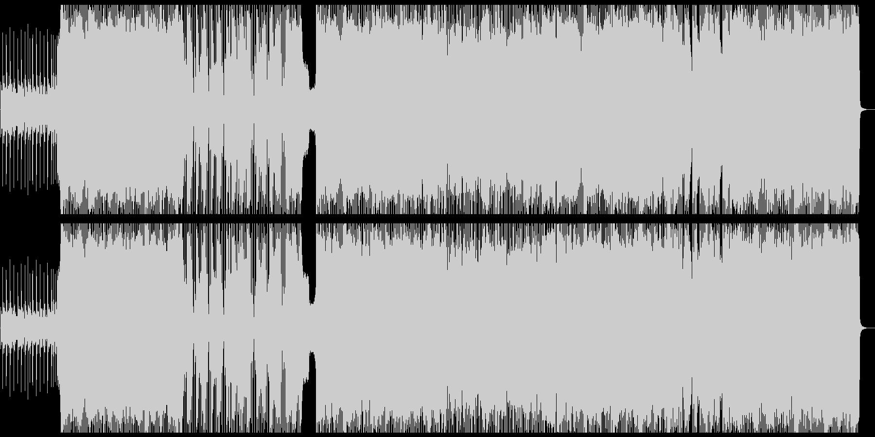 パンク ポップロック ポジティブ ...の未再生の波形
