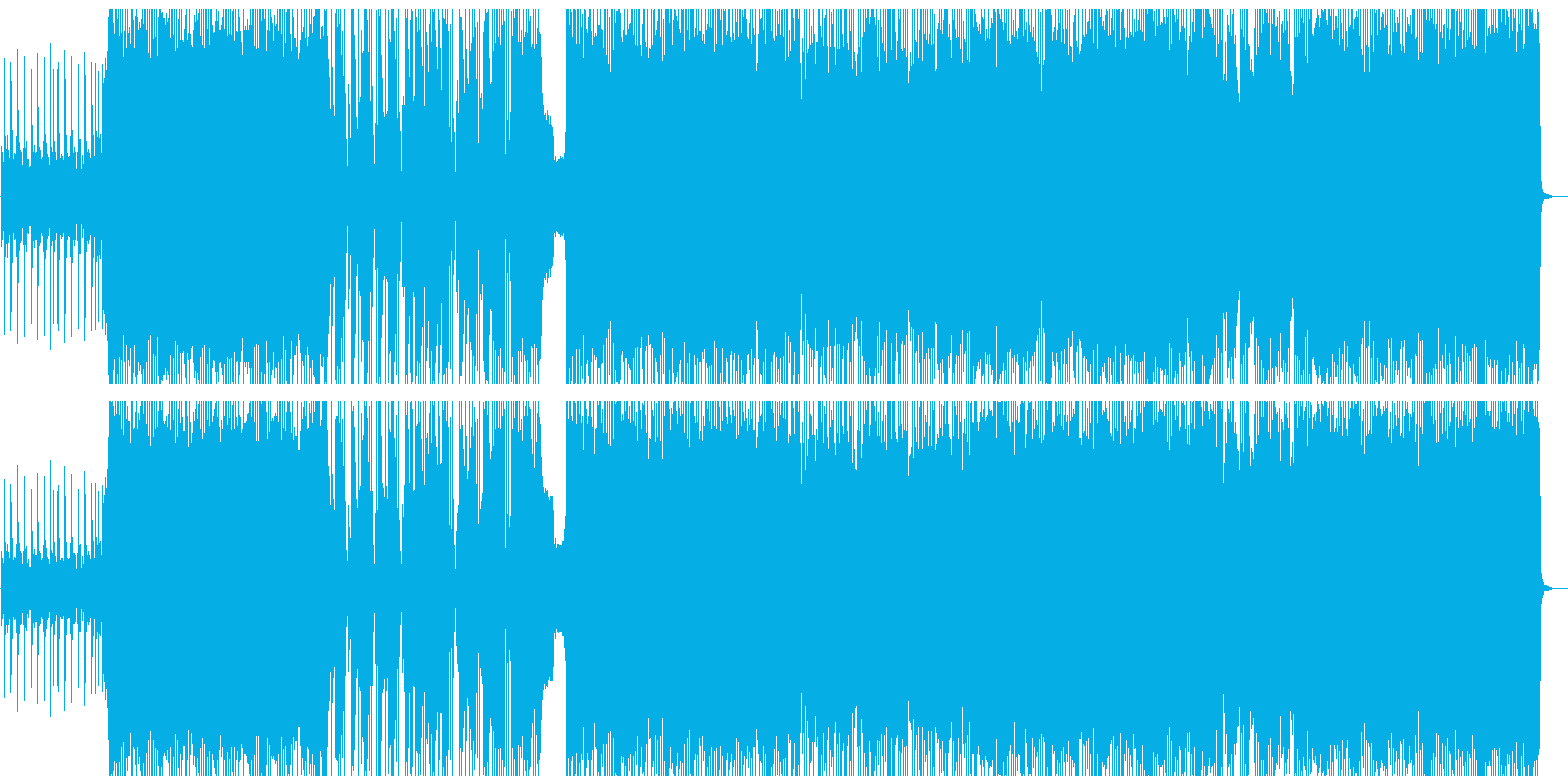 パンク ポップロック ポジティブ ...の再生済みの波形
