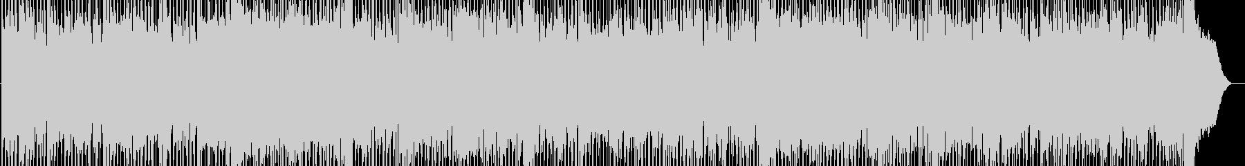 パワフルな疾走感のギターロック 激しいの未再生の波形
