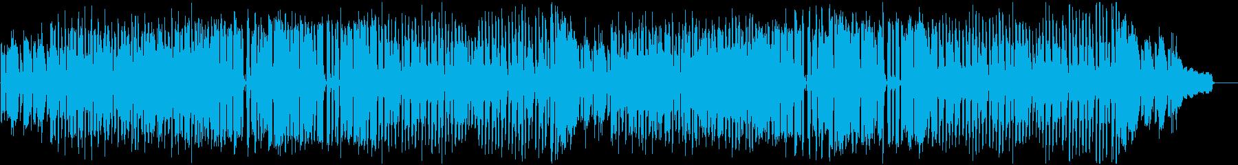 素朴でのんびりした曲_ロングの再生済みの波形