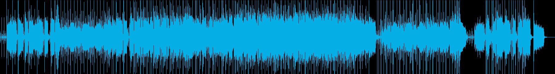 洋楽プログレロック、ハード目の再生済みの波形