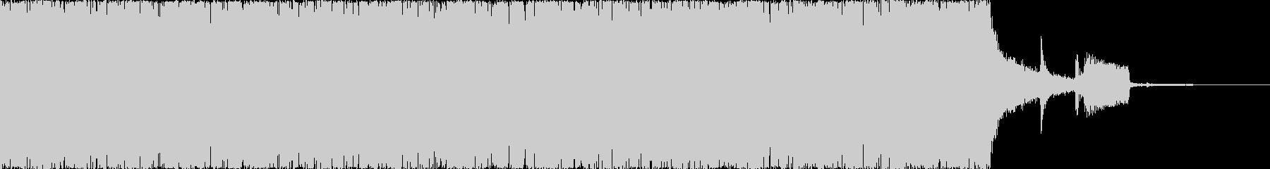 エレクトロ・EDM・激しい・ジングルAの未再生の波形