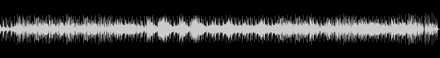 オープニングに合うお洒落なジャズBGMの未再生の波形