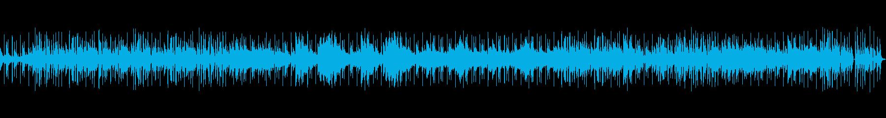 オープニングに合うお洒落なジャズBGMの再生済みの波形