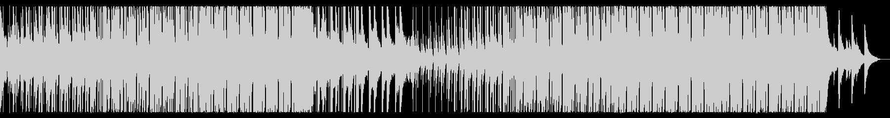 夏を感じる爽やかなトロピカルハウスEDMの未再生の波形