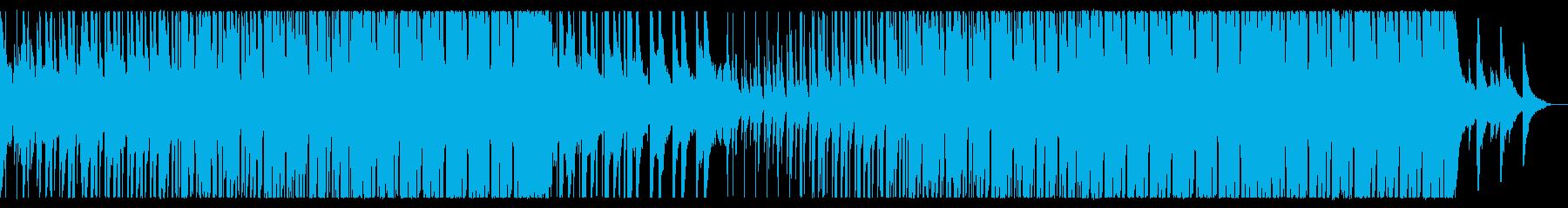 夏を感じる爽やかなトロピカルハウスEDMの再生済みの波形