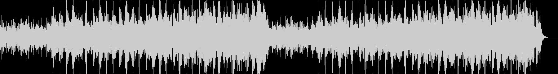 ファンタジーで壮大な雰囲気のピアノBGMの未再生の波形