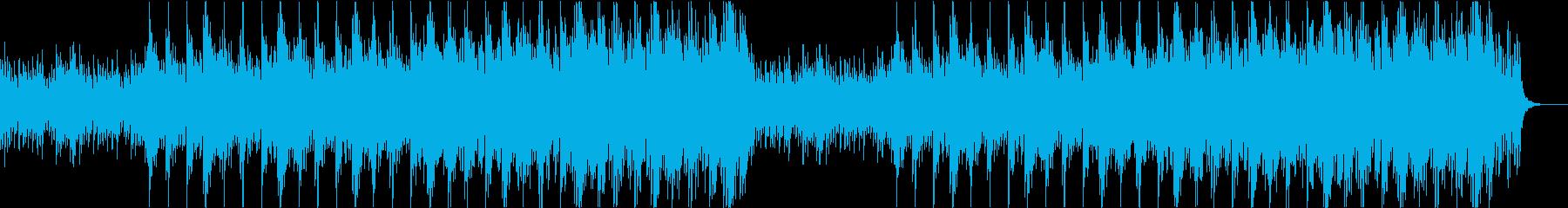 ファンタジーで壮大な雰囲気のピアノBGMの再生済みの波形