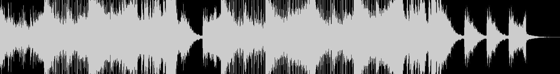 近未来的でダークなエレクトロニカの未再生の波形