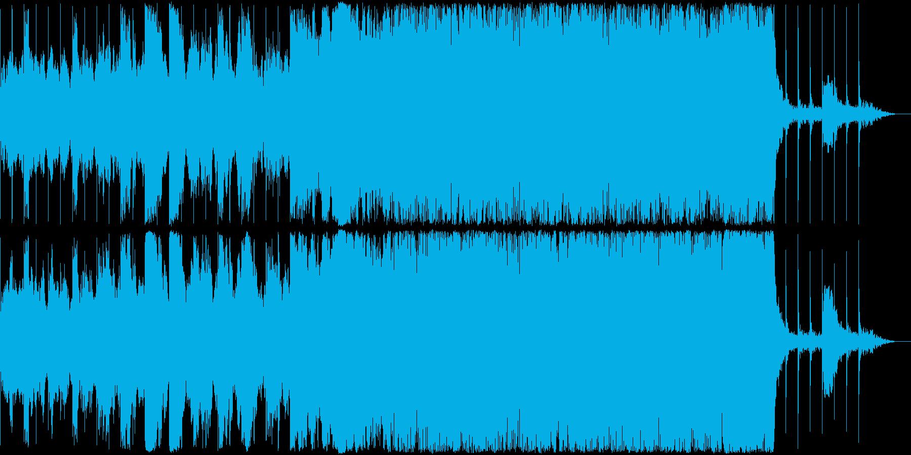 【バトル・サバイバル】緊張感のあるBGMの再生済みの波形