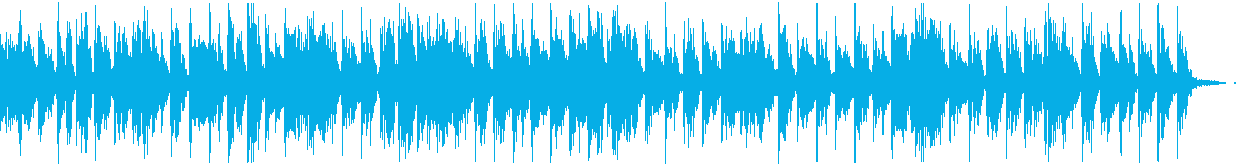 【CM】クールなエレクトロBGM・13の再生済みの波形