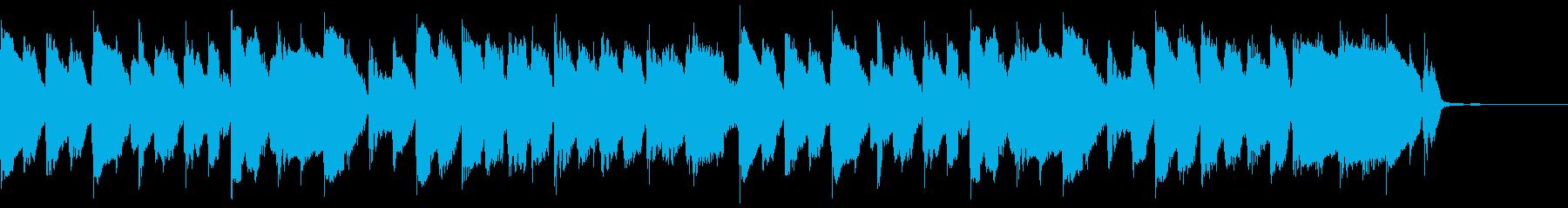 動画広告 30秒 リコーダーA 日常の再生済みの波形