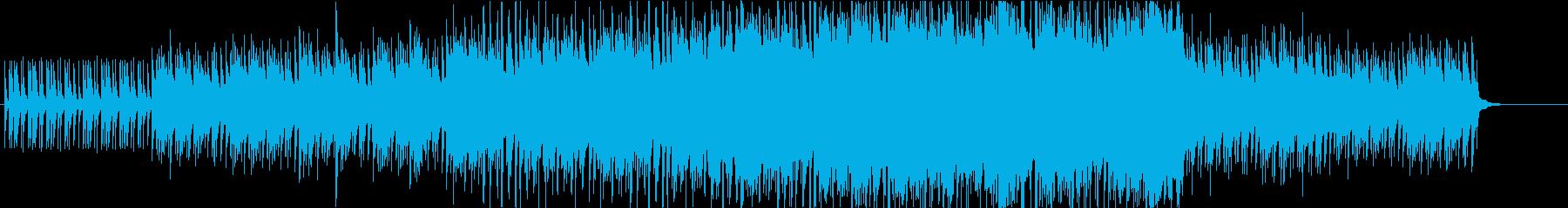 5月に吹く風をイメージした爽やかな曲_短の再生済みの波形