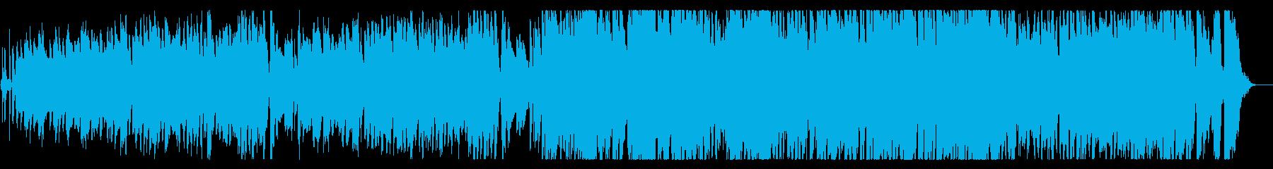 ジャズPOPS くるくる♪うきうき♪の再生済みの波形