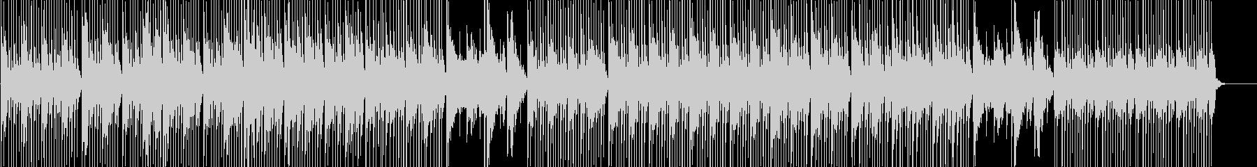 和風 三味線と尺八の軽やかな楽曲の未再生の波形