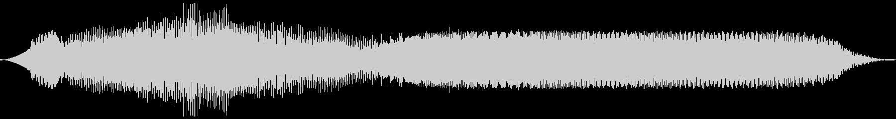 レーザーヒューシュウェインエレクトロbの未再生の波形