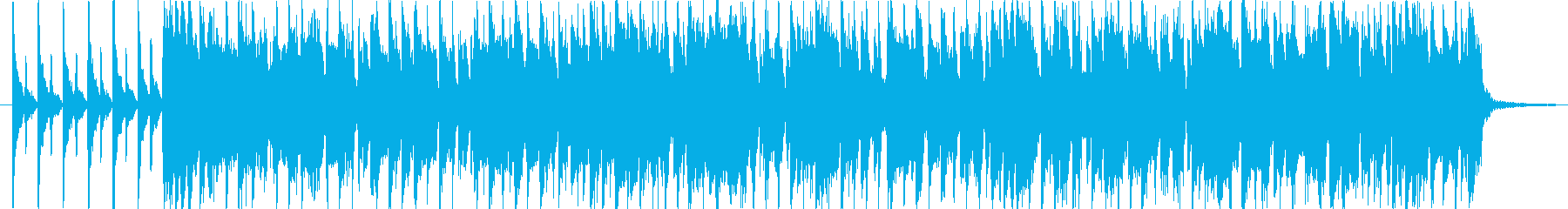 モータウンっぽいジングルの再生済みの波形