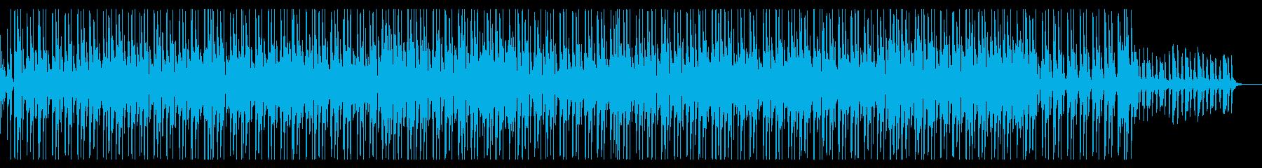おしゃれで大人なジャズ、ヒップホップの再生済みの波形