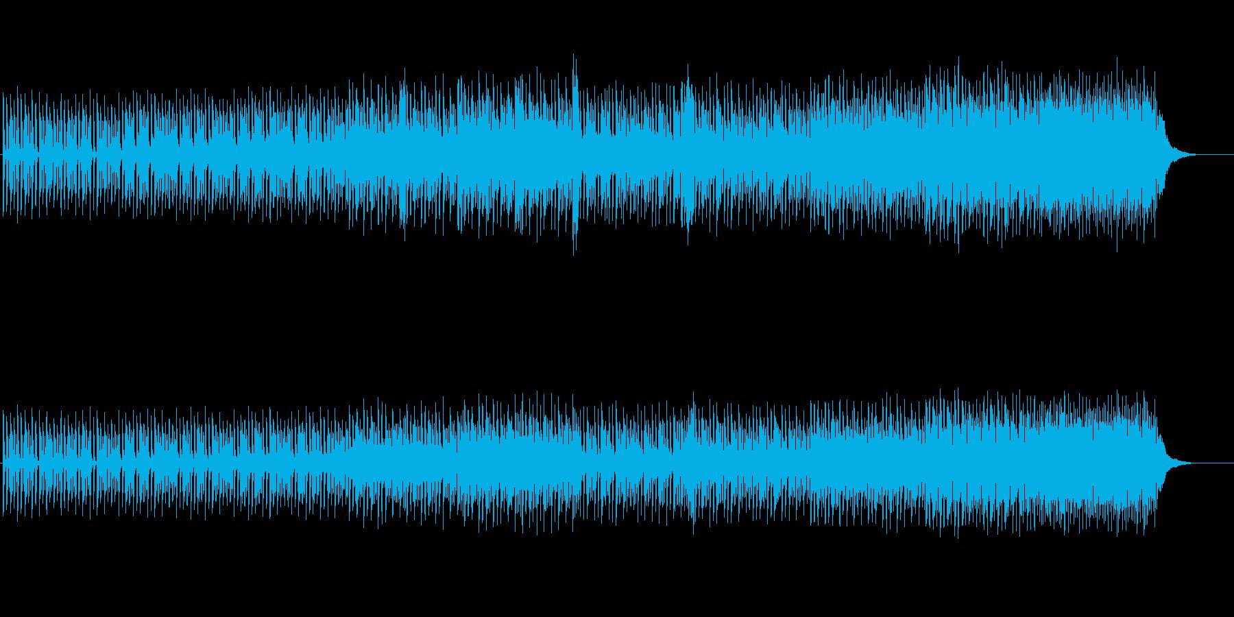 ロールプレイング・ゲーム向きのサウンドの再生済みの波形