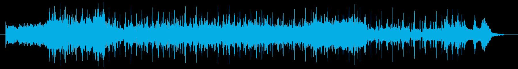 切り替えのシーンで使える曲調の再生済みの波形