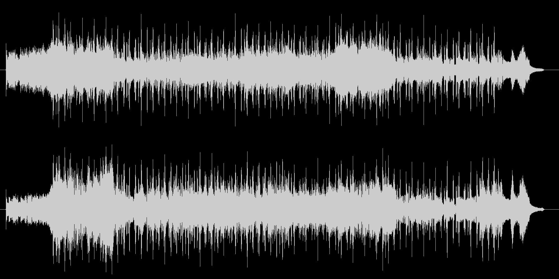 切り替えのシーンで使える曲調の未再生の波形