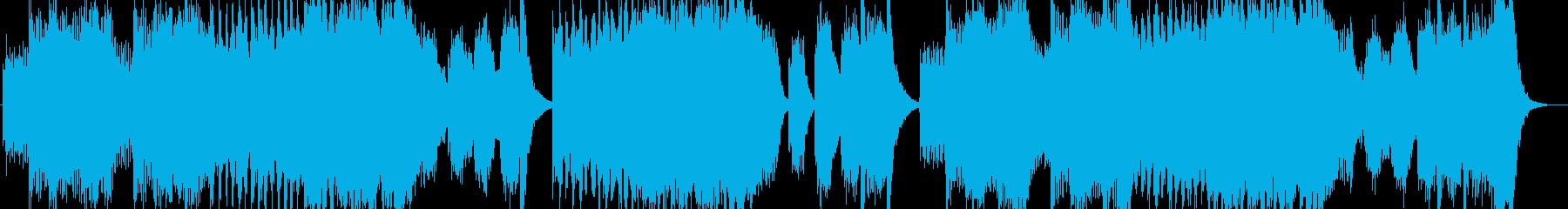 オーケストラ作品、ドラマチック。の再生済みの波形