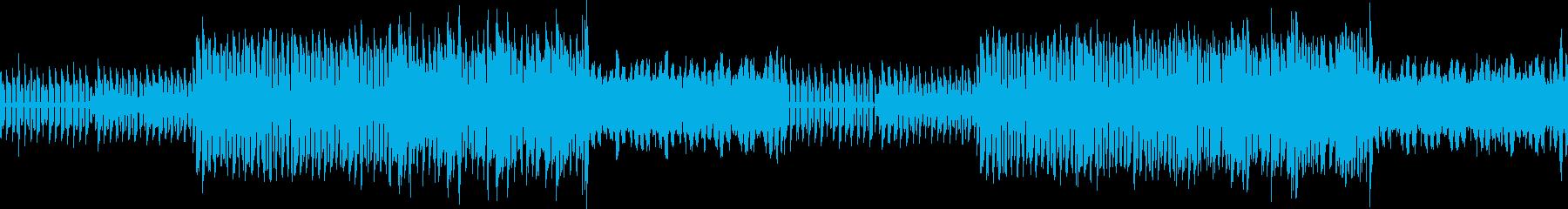 【メインメロ抜】トランスBGMの再生済みの波形