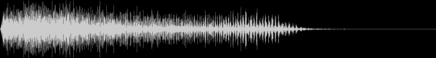 パワーダウンストップの未再生の波形