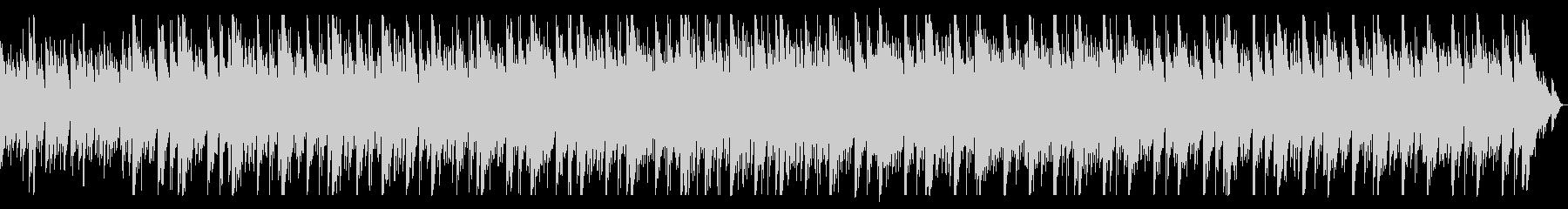 打楽器とピアノのミニマルミュージックの未再生の波形
