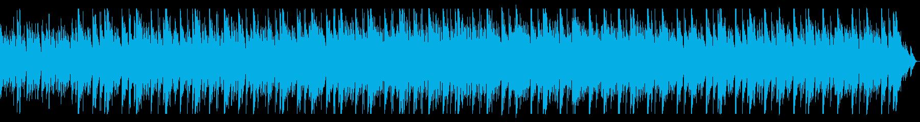 打楽器とピアノのミニマルミュージックの再生済みの波形