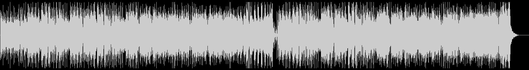 笛・太鼓がメインのどっしりした和風楽曲の未再生の波形