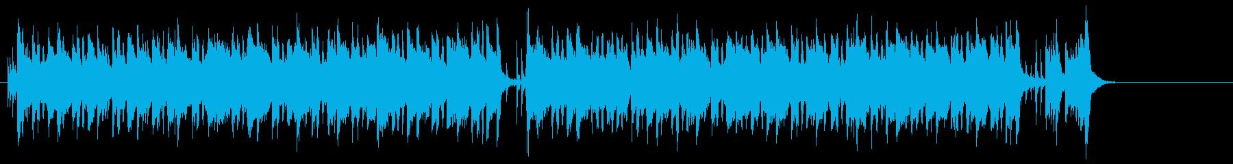 大江戸長屋のおおらかな和風ポップスの再生済みの波形