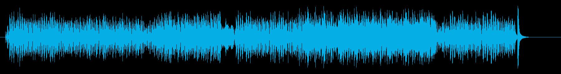 かわいく楽しいアニメ調コミカル・ポップスの再生済みの波形