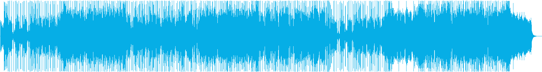 今注目のおしゃれなシティポップ系BGMの再生済みの波形