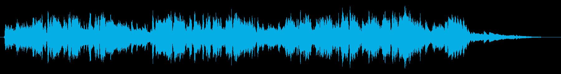しじみをテーマにした楽曲の再生済みの波形