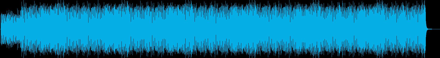 愉快でコミカル、奇妙なハロウィンサーカスの再生済みの波形