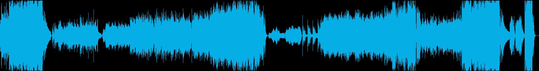 壮大なロマン派風ピアノ協奏曲の再生済みの波形