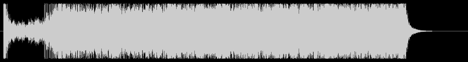 Rock系オープニングSE的な60秒の未再生の波形