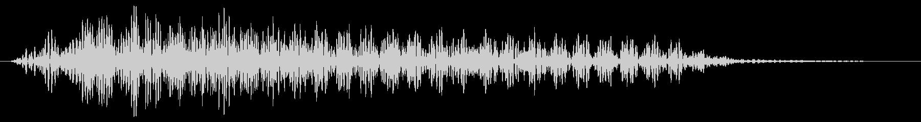 ダーク ストローク ナイロンギターの未再生の波形