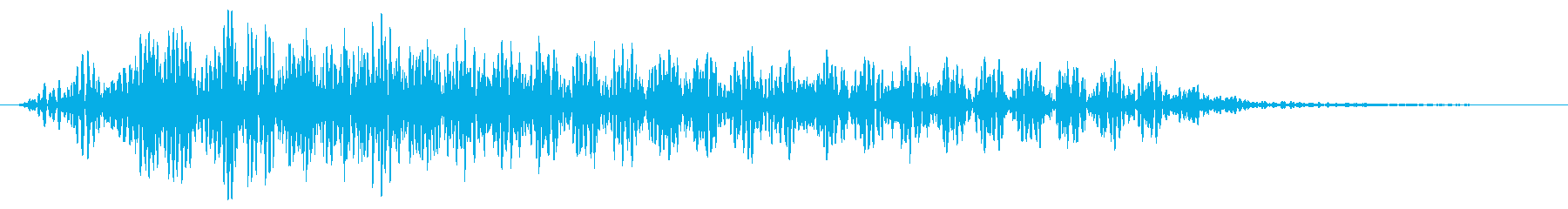 ダーク ストローク ナイロンギターの再生済みの波形