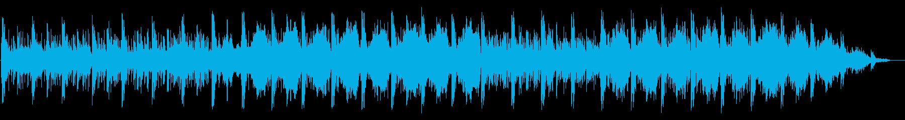 ジブリの世界観、きらめくハープの再生済みの波形