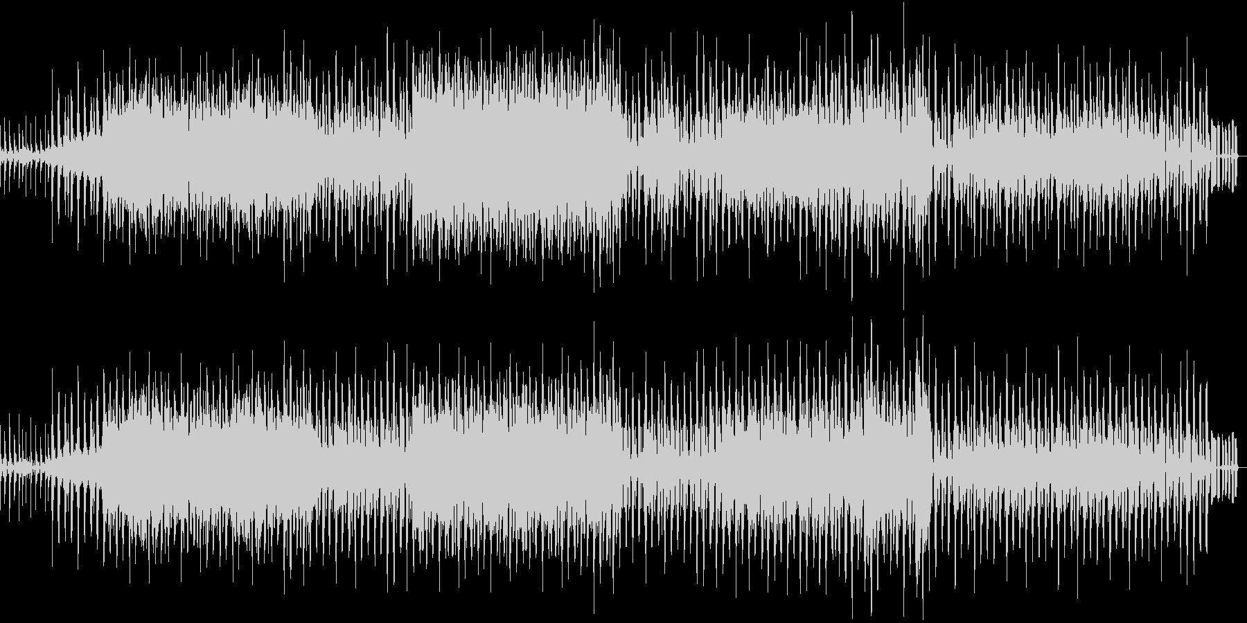 アジアンテイストの夏向きダンスBGMの未再生の波形