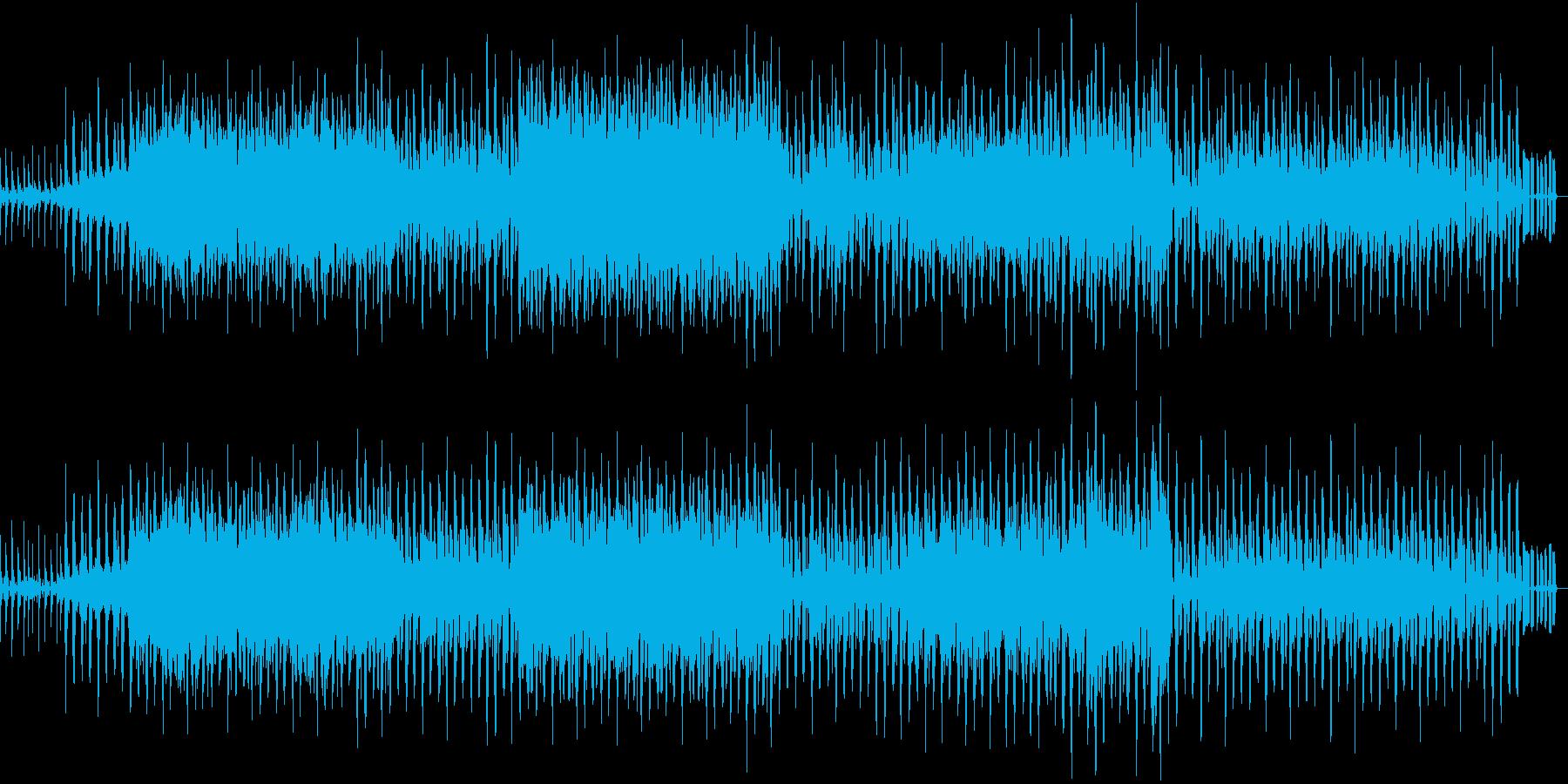 アジアンテイストの夏向きダンスBGMの再生済みの波形