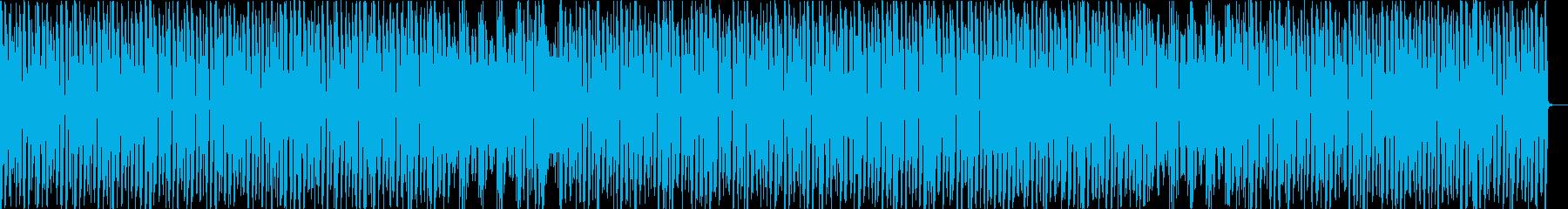 コミカル/楽しい/カラオケの再生済みの波形