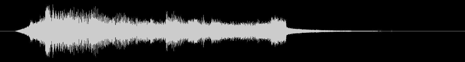 2.幕開け感のあるサウンドロゴの未再生の波形