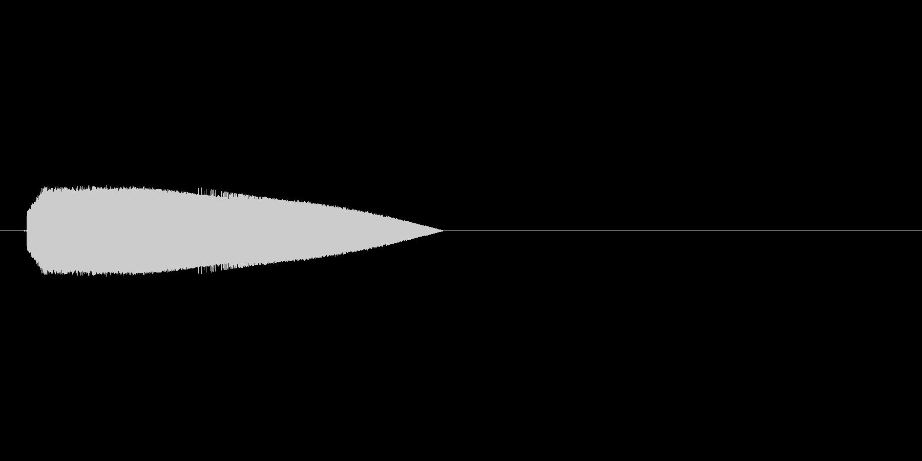 8bitのジャンプ音1 ぴょーんの未再生の波形